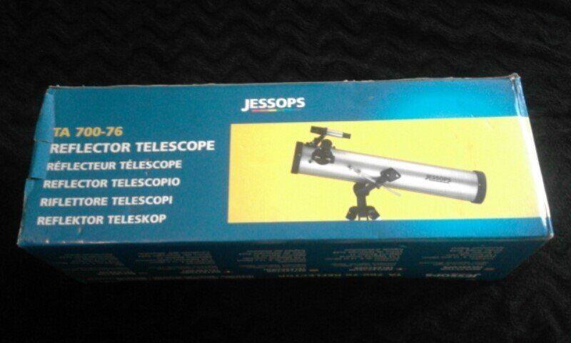 Jessops ta 700 76 reflector telescope. in fishermead