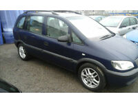 2001 Vauxhall Zafira mpv Estate 1.6i 7 seats ( NOW £895 ono )