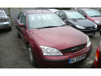 2003 Ford Mondeo 1.8LX ( £100 OFF ANY CAR )