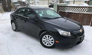 2011 CHEVROLET CRUZE 107KM SAFETIED!!!