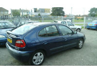 2002 Renault Megane 1.6 ( NOW £695 WE DO TAKE CLOSE OFFERS )