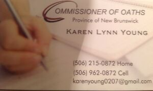 Commissioner of Oaths-I am available to sign your legal document