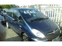2005 CITROEN PICASSO 2.0 HDi DIESEL ( NOW £799 ono.TO CLEAR )