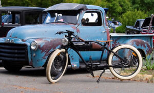 Vintage/Retro Styled Electric Bicycle