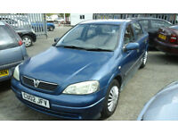2002 VAUXHALL ASTRA 1.6 cc 60K ( BEST OFFERS TO CLEAR )