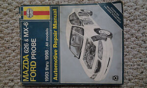 Haynes Repair Manual – Mazda 626 / MX6 (MX-6) / Probe 1993-1998 Stratford Kitchener Area image 1