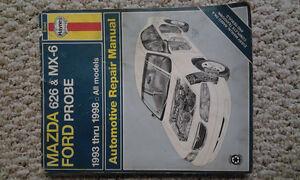 Haynes Repair Manual – Mazda 626 / MX6 (MX-6) / Probe 1993-1998