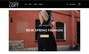 Online Women's Clothing E-Commerce Website