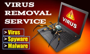 COMPUTER VIRUS REMOVAL SERVICE ONLY $251HR SERVICENO FIX NO C