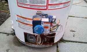 Hot water tank parts