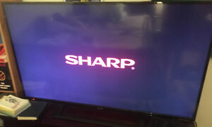 "50"" Sharp HD TV For Sale!"