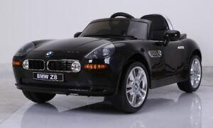 Licensed 12V BMW Z8 Child Ride-On Car, Doors,  Leather Seat