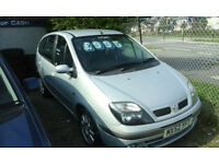 2002 Renault Scenic 1.9 DIESEL..( NOW £795 WE DO TAKE CLOSE OFFERS )