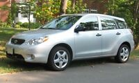 2006 Toyota Matrix Hatchback Good Quality Car with only 98000kms