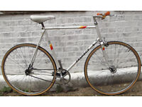 Single speed bike PEUGEOT frame 23inch built BY US NEW TYRES, DICTA 18T, CHAIN, BAR, GRIPS WARRANTY