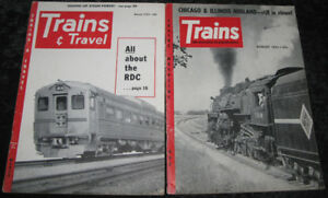 Vintage Transportation Magazines: Trains, 4-Wheeler, Snowmobile