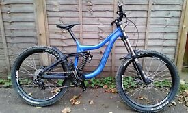 2014 Kona Park Operator Downhill Freeride Mountain Bike