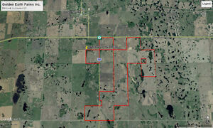 2000.21 Acres Near Qu'Appelle RM #157 Land & Buildings Hwy #1 Regina Regina Area image 10