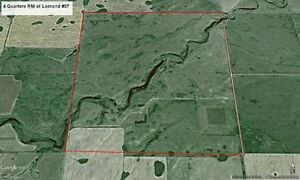 4 Quarters RM of Lomond #37 Near Goodwater, SK. FOR SALE