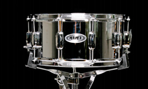 Mapex steel 6.5x14 snare