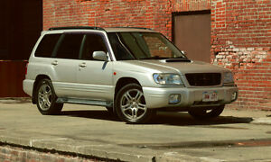 REDUCED--JDM RHD 2000 SUBARU FORESTER S/TB!!