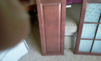 KITCHEN CABINET BIRCH DOORS...EX. CON. APPROX. $1300 NEW