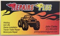 REPAIRS PLUS on ALL Makes & Models