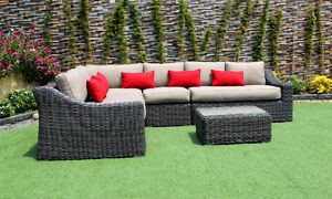 NEW!  Outdoor Wicker Dining and Patio Furniture with SUNBRELLA Comox / Courtenay / Cumberland Comox Valley Area image 4