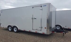 2016 Royal 8'x20' enclosed car hauler, like new