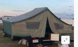 TENT TRAILER CANVAS - VINYL & ZIPPER REPAIRS AND MORE