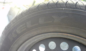 Kelly Edge All Season 195 / 65 R15 on rims West Island Greater Montréal image 6