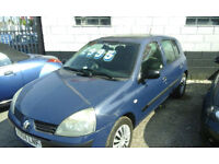 2004 Renault Clio 1.4 cc ( £995 with BEST OFFERS )