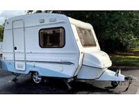 Freedom Jetstream Twin Sport Caravan 2 Berth with Motor Mover, Awning, Cover