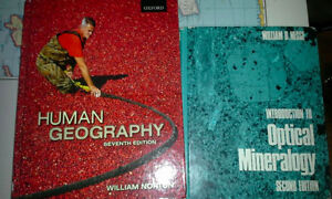 Human Geography - Norton 7th Ed - Excellent Condition