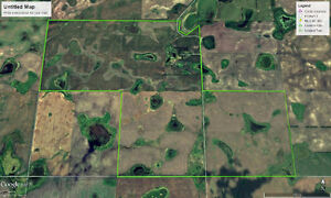 4 Quarters Grain Land Ogema, SK. Area RM of Norton #69