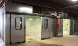 UNITED SPRAY BOOTHS - Enclosed Spray Paint Booth