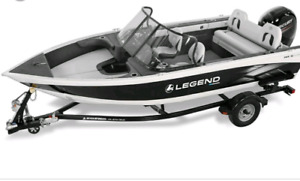 2016 Legend Xcaliber 18' with a 2017 4 stroke Mercury 90hp