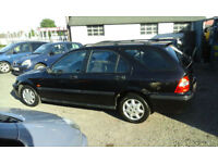 1999 HONDA CIVIC 1.6i ESTATE.( NOW £399. with CLOSE OFFERS TO CLEAR )