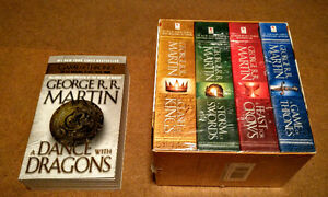 George R R Martin - Song of Fire & Ice series + 3 more