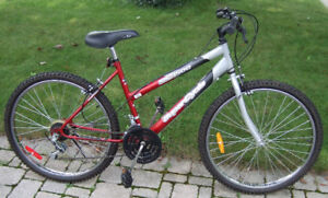 Red & Silver Supercycle 15 speed MTN bike - Made in Canada