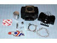 New YAMAHA PW 50 CYLINDER KIT Block/Head/Piston/Rings/Gasket PW50