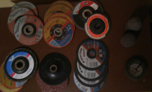 Angle grinder blades and cone grinders