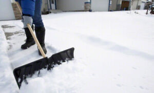 SNOW REMOVAL/SHOVELLING IN PICKERING/AJAX AREA