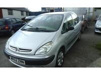 2002 CITROEN PICASSO 1,8cc ( NOW TO CLEAR JUST £575 ono )