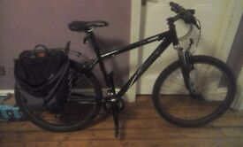 Revolution hybrid mountain/courier bike, dual suspension, collection only from Armley, Leeds