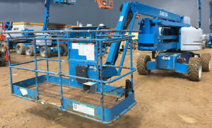 2011 GENIE Z-60 Articulating Boom Manlift . Buy for $1000/mo.