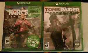 2 xbox one games 25$