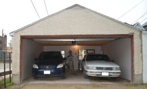 Garage for parking for rent close to u of Winnipeg n downtown