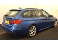 BMW 320d m sport Estate 184Bhp 2013 FROM £64 PER WEEK !