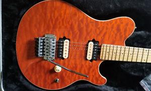 Like New Ernie Ball MusicMan Axis Guitar+CoA+Case and EVH D-Tuna